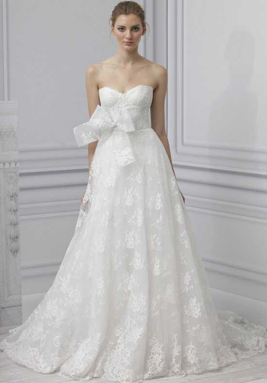 Monique Lhuillier Treasure A-Line Wedding Dress