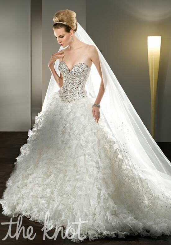 Demetrios 2850 Ball Gown Wedding Dress