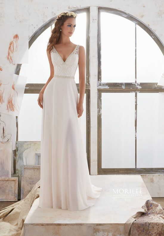 Morilee by Madeline Gardner/Blu 5505 A-Line Wedding Dress