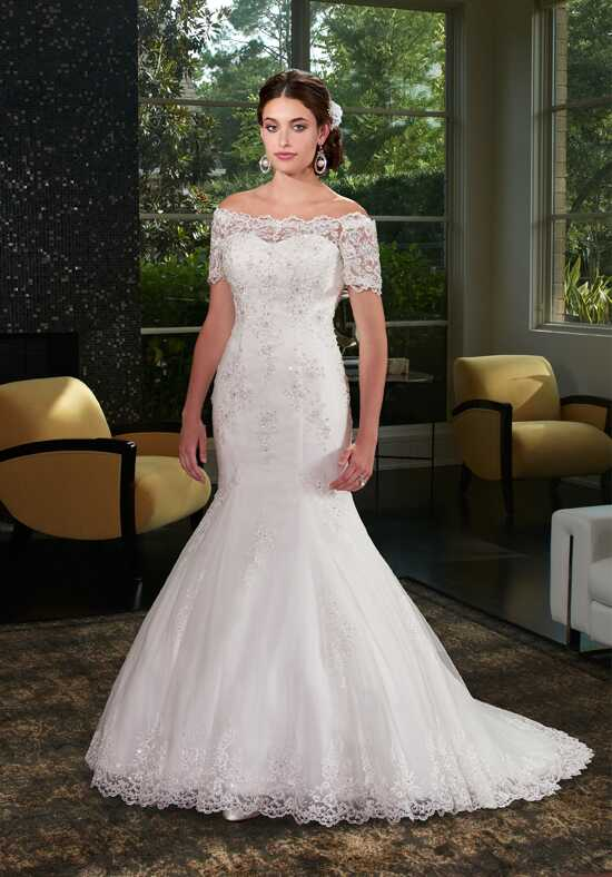1 Wedding by Mary's Bridal 6407 Mermaid Wedding Dress