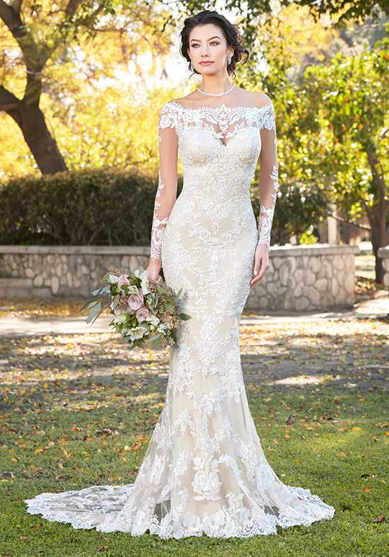 IVOIRE by KITTY CHEN LISELLE, V1808 Sheath Wedding Dress