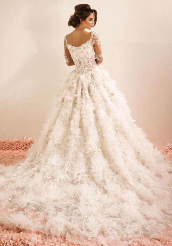 Ysa makino kym158 wedding dress the knot for Ysa makino wedding dress