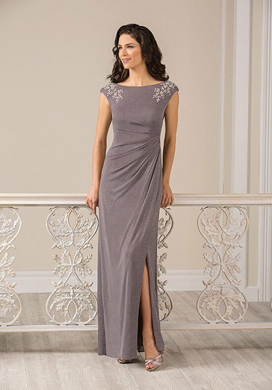 Jade J185011 Silver Mother Of The Bride Dress