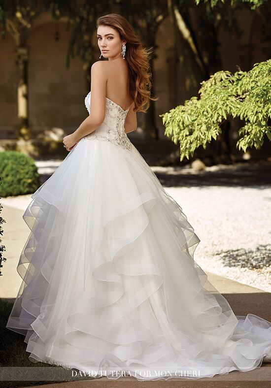 David Tutera For Mon Cheri Charity Ball Gown Wedding Dress With Donate Dresses