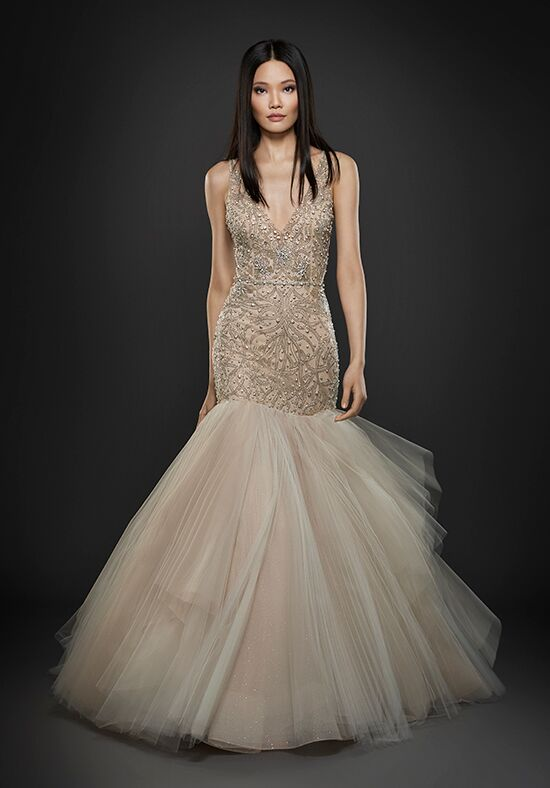 Lazaro 3752 Mermaid Wedding Dress