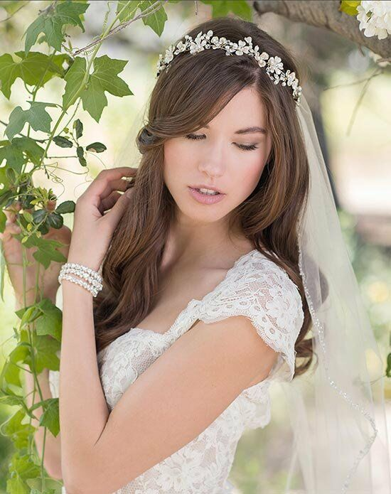 Bel aire bridal 6583 wedding tiara the knot for Bel aire bridal jewelry