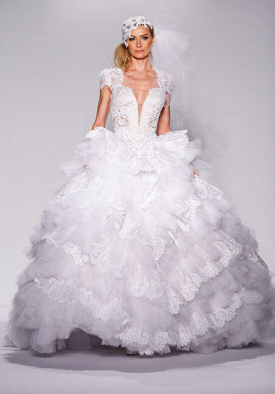Pnina Tornai for Kleinfeld 4465 Ball Gown Wedding Dress