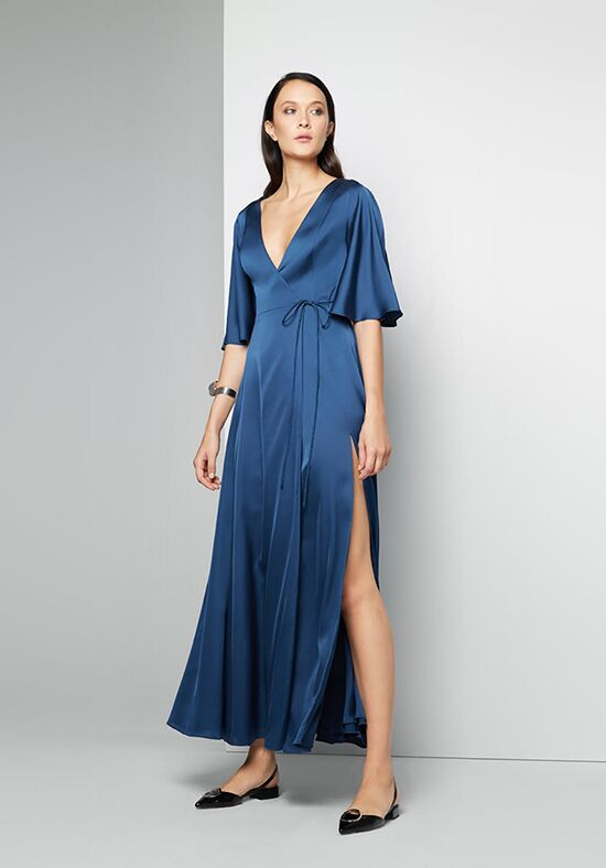 Fame and Partners Bridesmaid Zane V-Neck Bridesmaid Dress