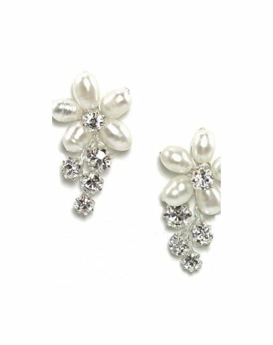 Anna Bellagio LUCIA FRESHWATER PEARL AND CRYSTAL EARRING Wedding Earring photo