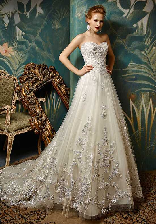 Blue by Enzoani Jolanda A-Line Wedding Dress