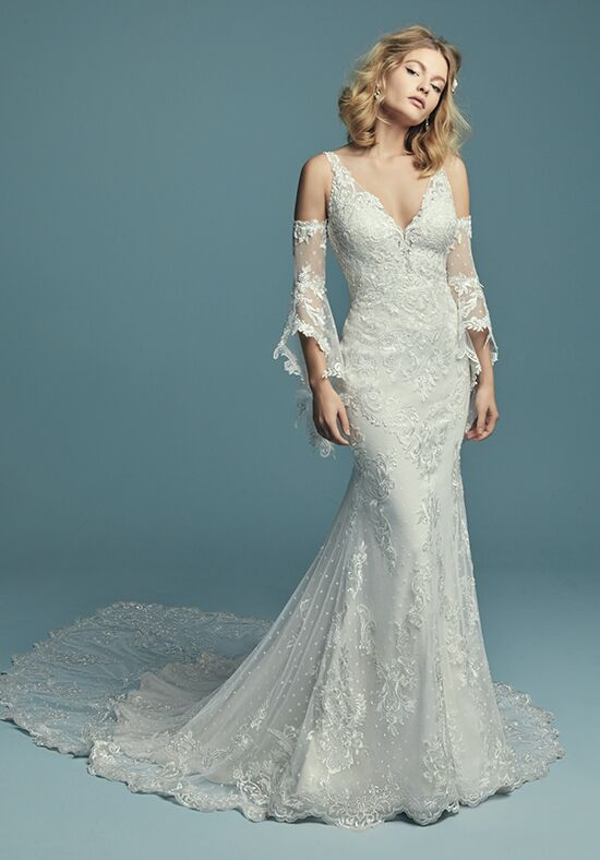 Maggie Sottero Lucienne Sheath Wedding Dress