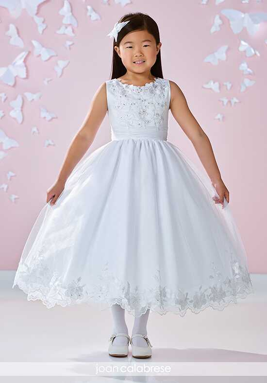 Joan Calabrese by Mon Cheri 117360 Ivory Flower Girl Dress