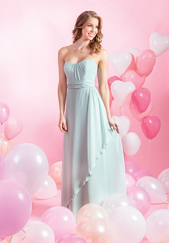 Alfred Angelo Signature Bridesmaids Collection 7384L Neckline Bridesmaid Dress