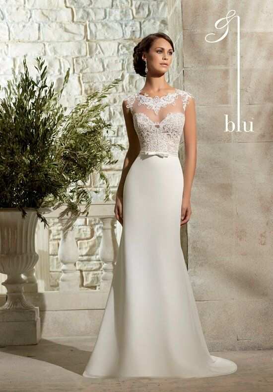 Morilee by Madeline Gardner/Blu 5301 A-Line Wedding Dress
