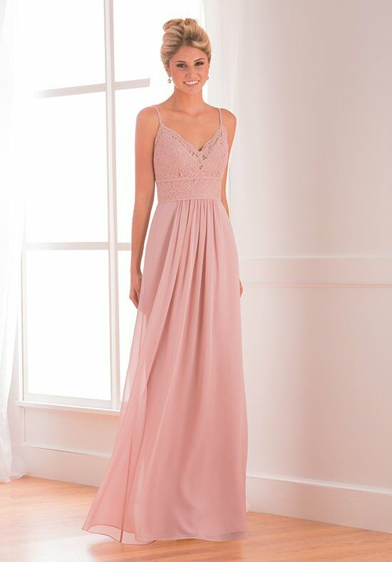 B2 by Jasmine B173018 V-Neck Bridesmaid Dress