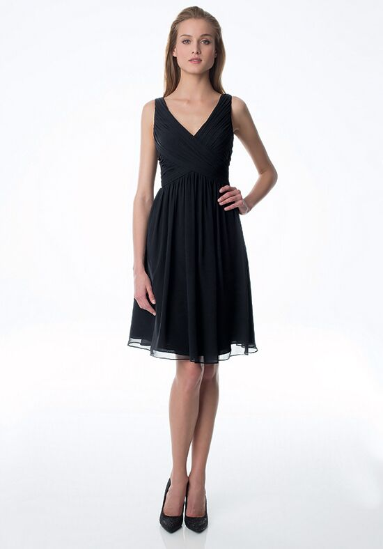 Bill Levkoff 945 V-Neck Bridesmaid Dress