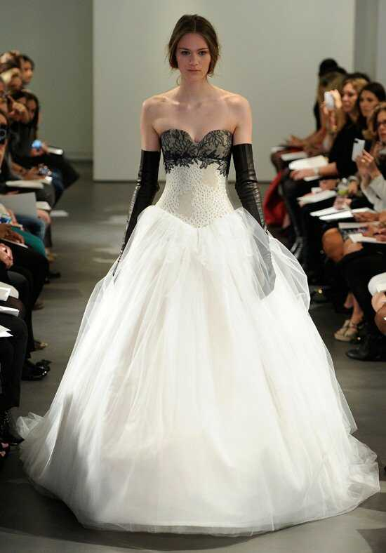 Vera Wang Spring 2014 Look 7 Ball Gown Wedding Dress