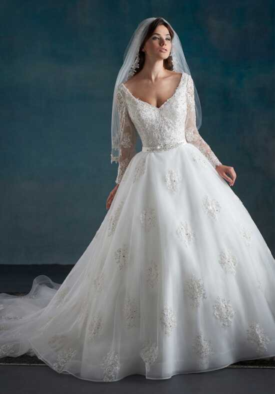 1 Wedding by Mary's Bridal 6527 Ball Gown Wedding Dress