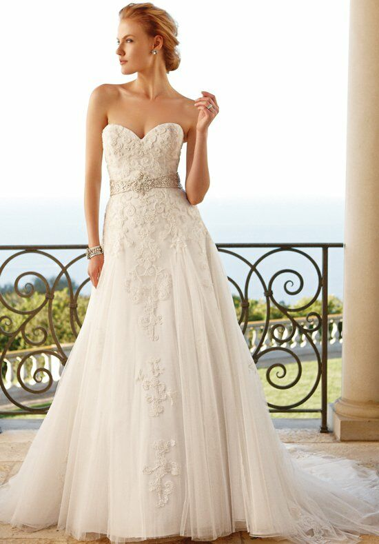Casablanca Bridal 2053 A-Line Wedding Dress