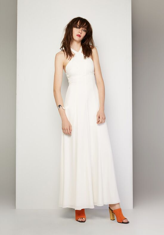 Fame and Partners Bridesmaid French Affair Halter Bridesmaid Dress