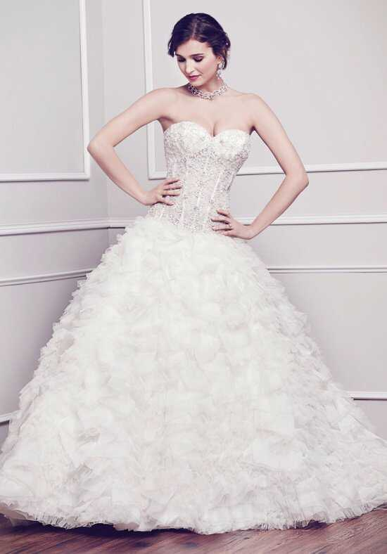 Kenneth Winston 1574 Ball Gown Wedding Dress