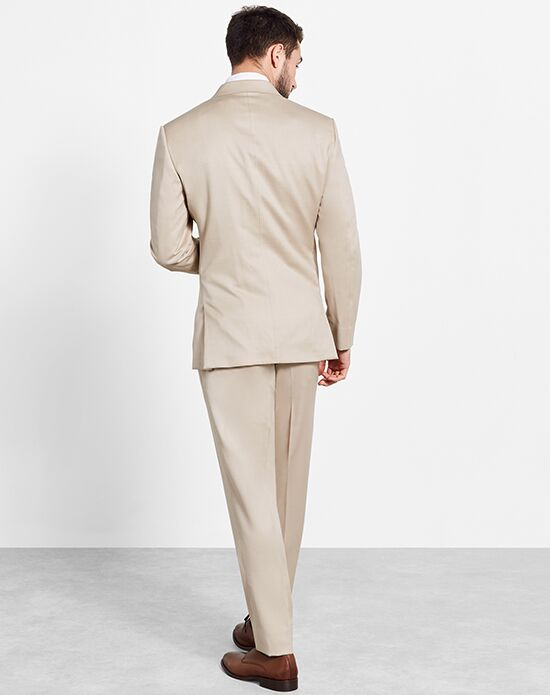 The Black Tux Tan Suit Wedding Tuxedo - The Knot