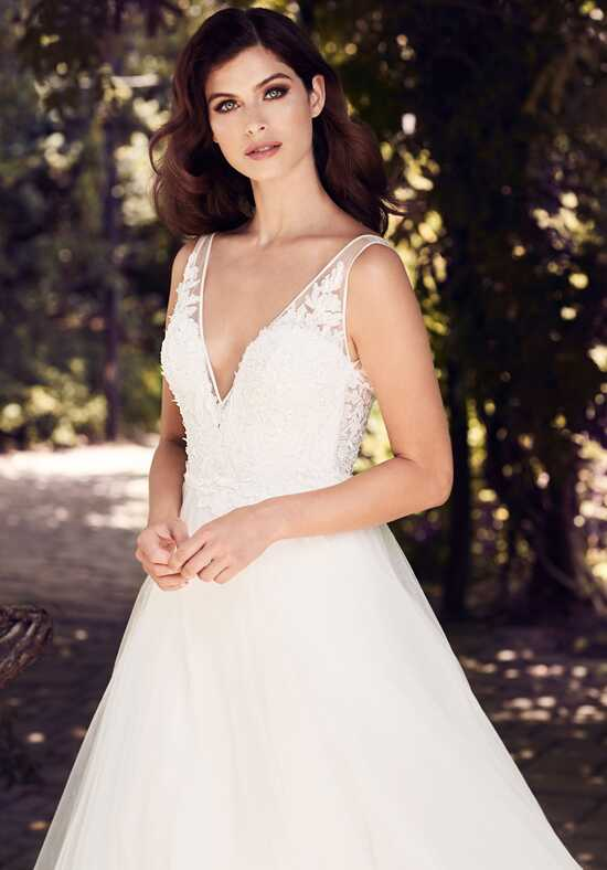 Paloma Blanca 4727 A-Line Wedding Dress