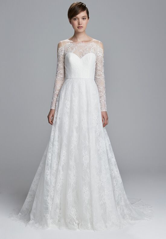 Christos Reina Ball Gown Wedding Dress