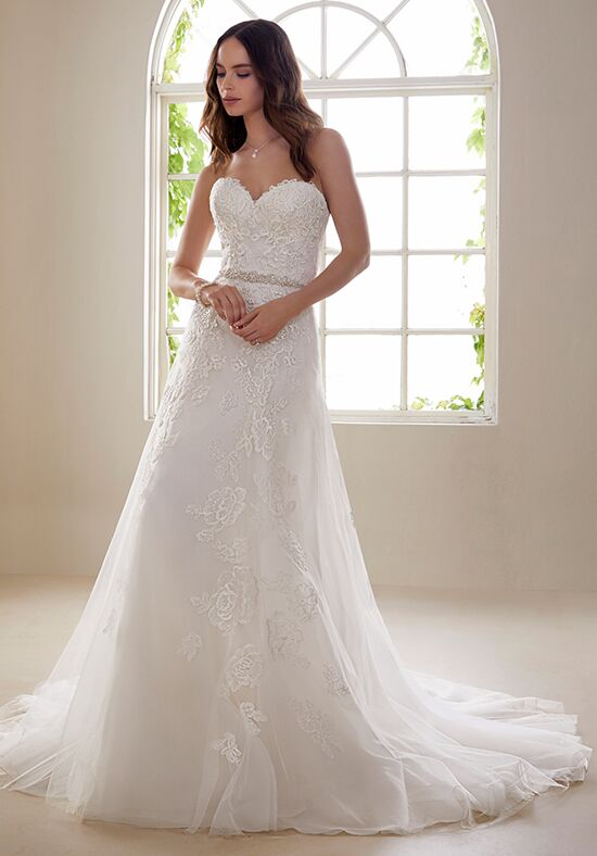 Sophia Tolli Y21827 Zirconia A-Line Wedding Dress