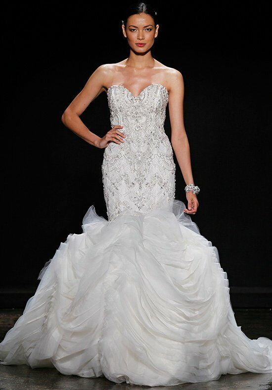 Lazaro 3400 Mermaid Wedding Dress