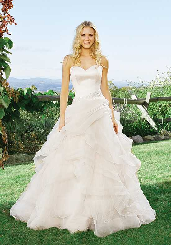 Lillian West 6430 Ball Gown Wedding Dress