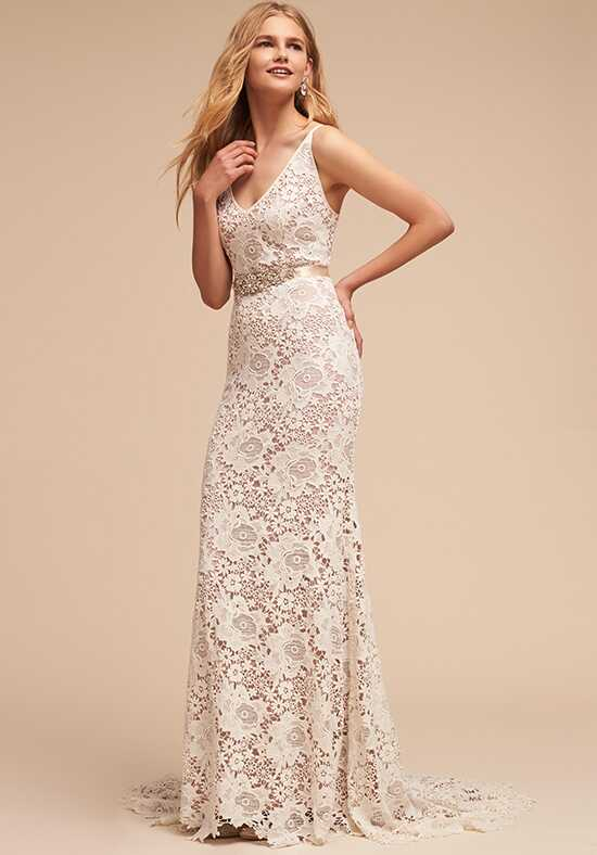 BHLDN Andrea Gown Sheath Wedding Dress