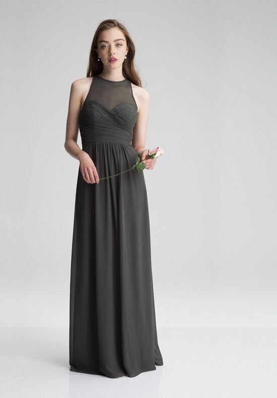 #LEVKOFF 7010 Illusion Bridesmaid Dress
