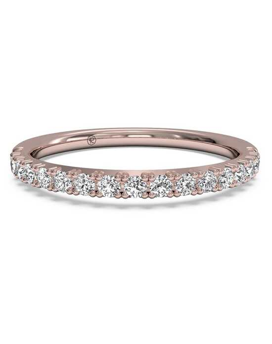 Ritani Women's French-Set Diamond Wedding Ring - in 18kt Rose Gold - (0.26 CTW) Rose Gold Wedding Ring