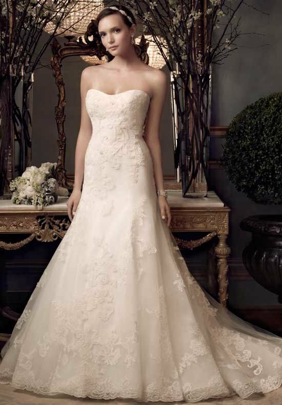 Casablanca Bridal 2173 Mermaid Wedding Dress