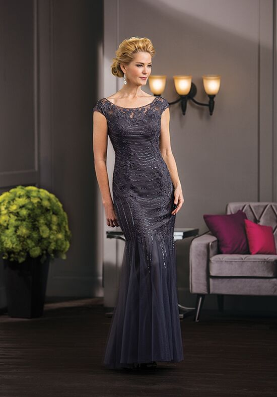 Jade Couture K188054 Grey Mother Of The Bride Dress