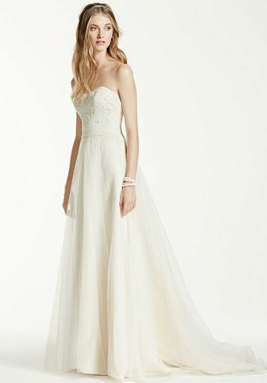 David's Bridal David's Bridal Collection Style WG3586 A-Line Wedding Dress