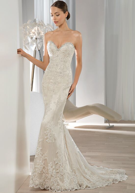 Demetrios 604 Sheath Wedding Dress