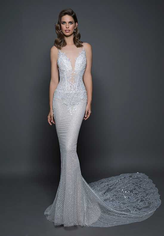 LOVE by Pnina Tornai for Kleinfeld 14585 Sheath Wedding Dress
