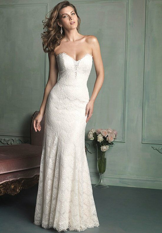 Allure Bridals Allure Bridals 9107 Bridal Gowns A-Line Wedding Dress