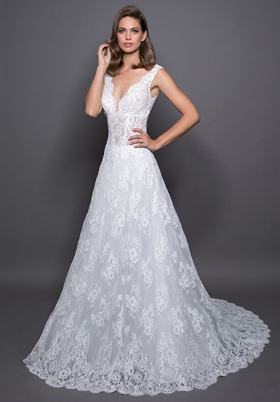 LOVE by Pnina Tornai for Kleinfeld 14588 A-Line Wedding Dress