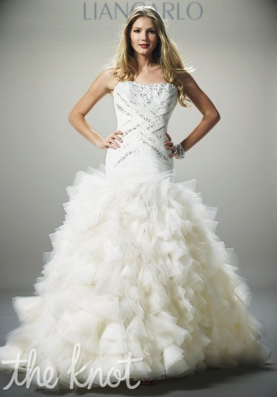 LIANCARLO 4879 Ball Gown Wedding Dress