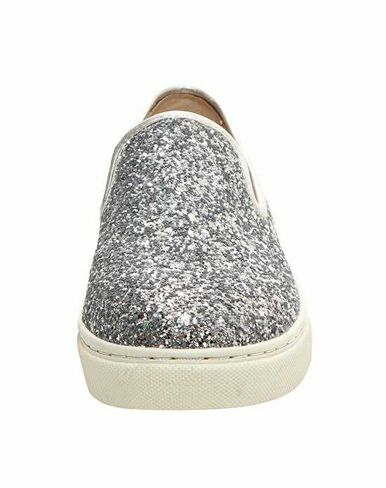 Blue by Betsey Johnson SB-EVE - SILVER GLITTER Silver Shoe