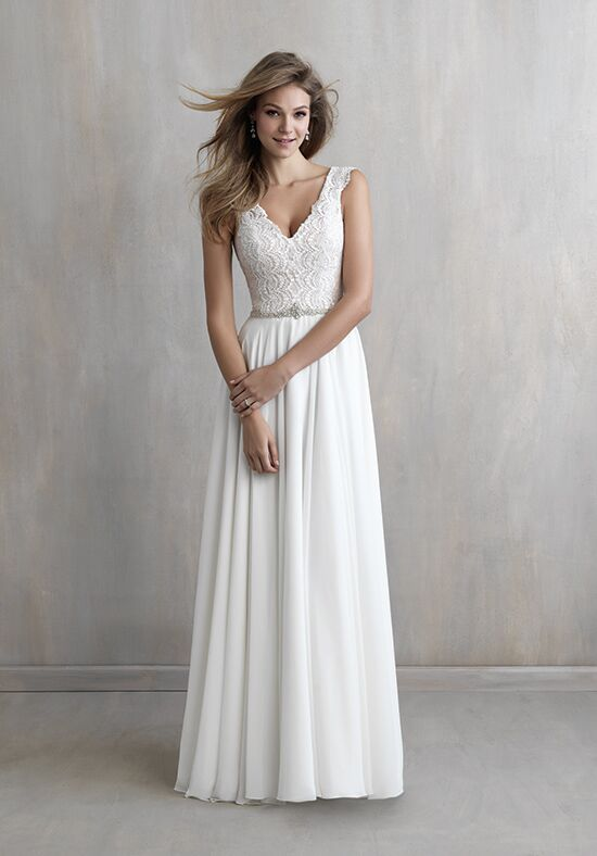 Madison James MJ218 A-Line Wedding Dress