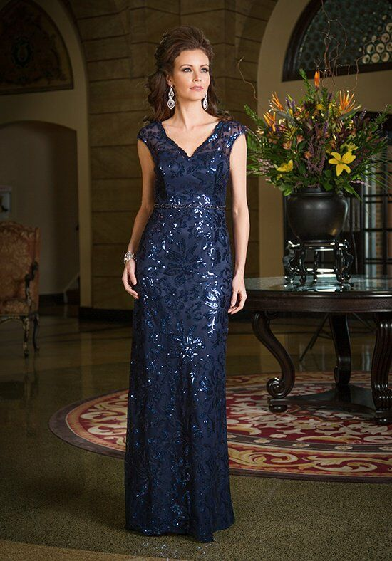 Jade Couture K168063 Blue Mother Of The Bride Dress