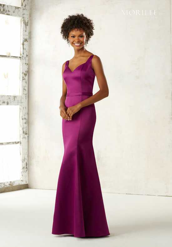 Morilee by Madeline Gardner Bridesmaids 21519 V-Neck Bridesmaid Dress