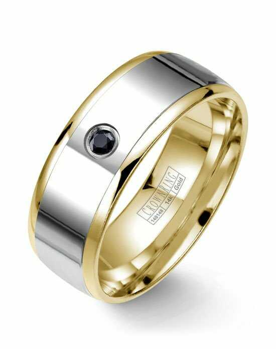 CrownRing WB-7972-M10 Gold Wedding Ring