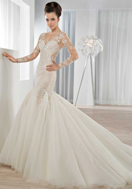 Demetrios 638 Mermaid Wedding Dress