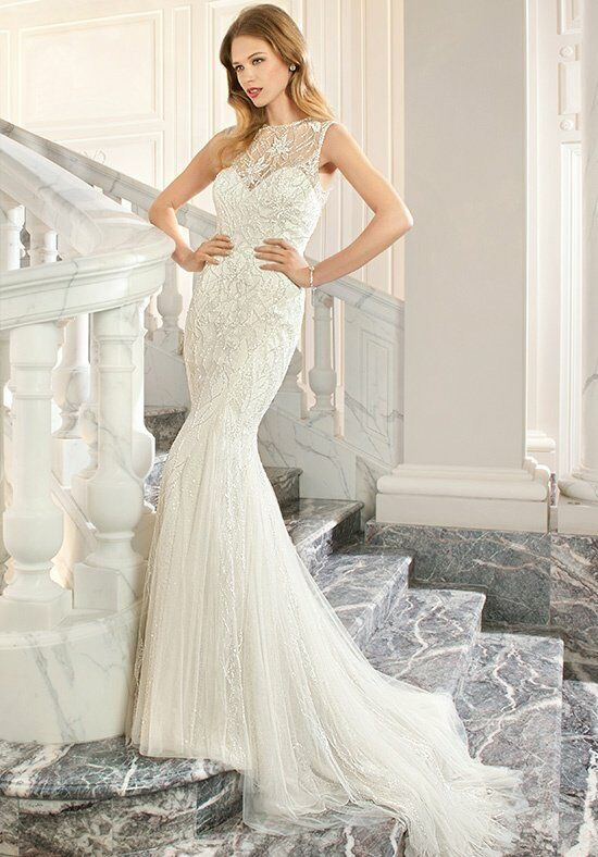 Demetrios C216 Mermaid Wedding Dress