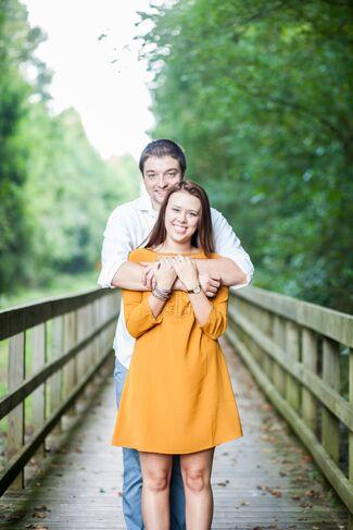 Courtney Hall And Adam Hattabaugh Wedding Photo 1